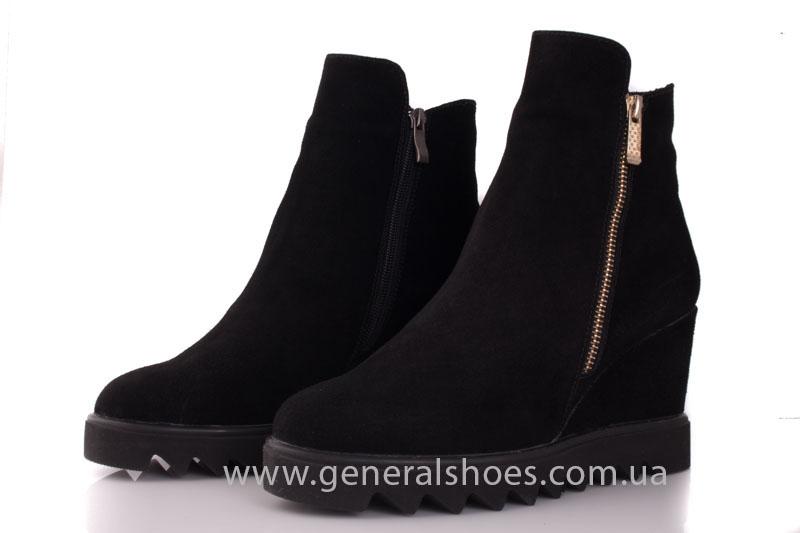 Зимние ботинки женские GL 12 черный фото 7