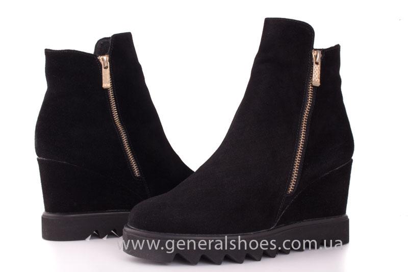 Зимние ботинки женские GL 12 черный фото 8