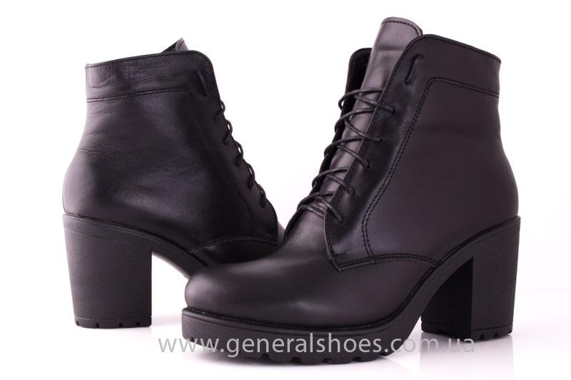 Зимние ботинки женские GL 7 черный фото 9