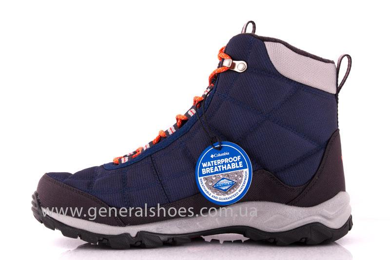 Ботинки Columbia Firecamp Boot BL 1766-492 синие фото 5