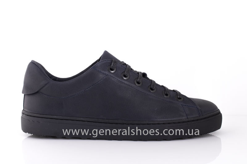 Кеды мужские кожаные Vlad XL 117 6093 08 синие фото 2