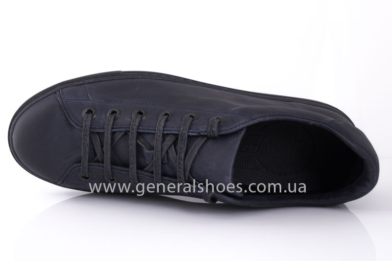 Кеды мужские кожаные Vlad XL 117 6093 08 синие фото 5