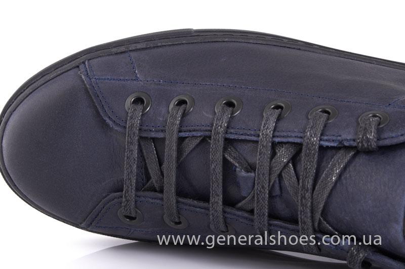 Кеды мужские кожаные Vlad XL 117 6093 08 синие фото 6