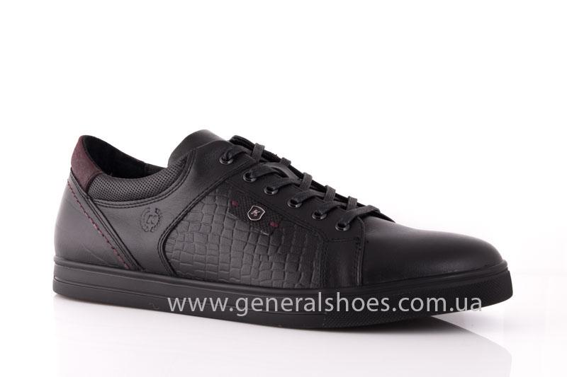Мужские кожаные туфли Karat 18 265 черные фото 1