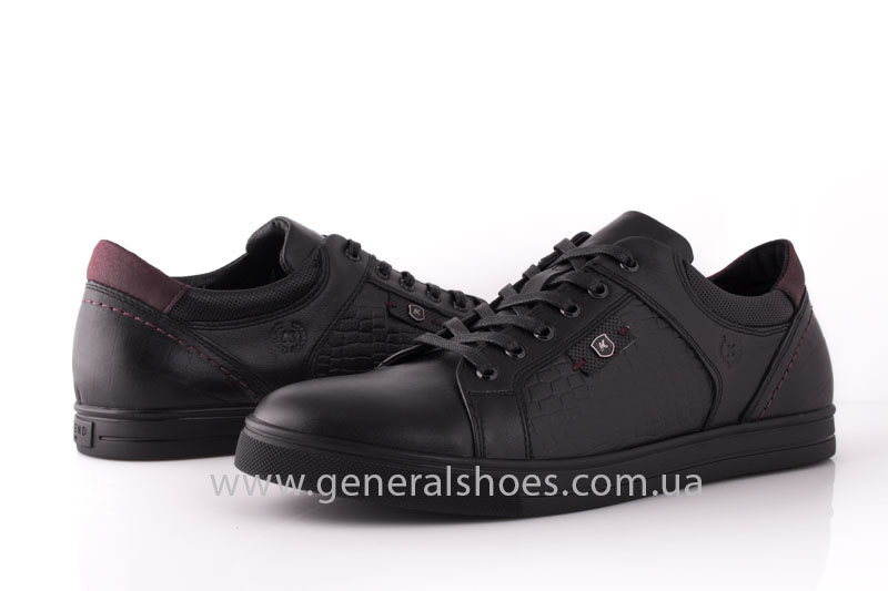 Мужские кожаные туфли Karat 18 265 черные фото 10