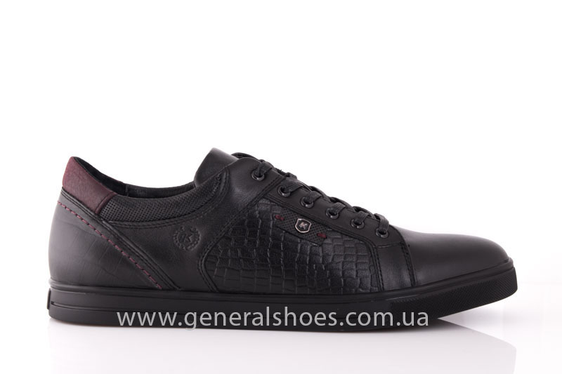 Мужские кожаные туфли Karat 18 265 черные фото 2