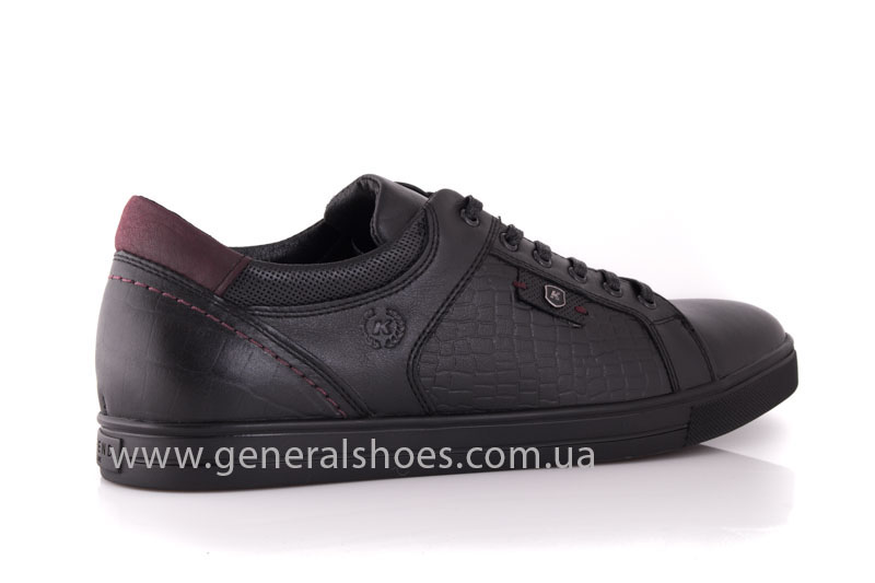 Мужские кожаные туфли Karat 18 265 черные фото 3