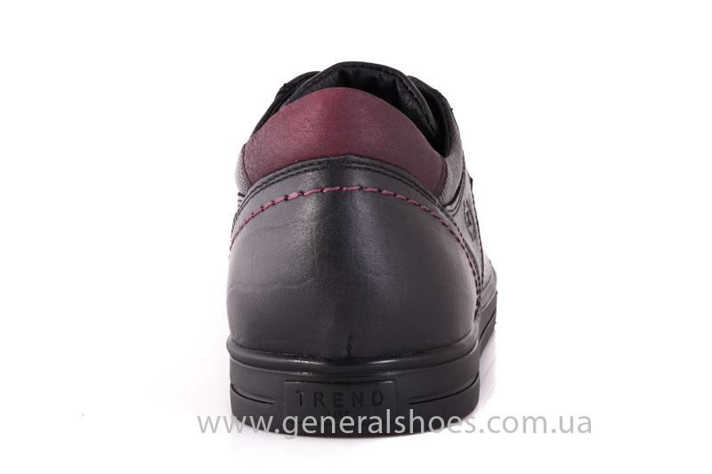 Мужские кожаные туфли Karat 18 265 черные фото 4