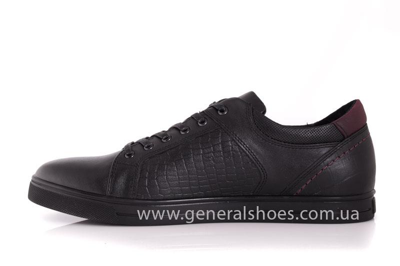 Мужские кожаные туфли Karat 18 265 черные фото 5