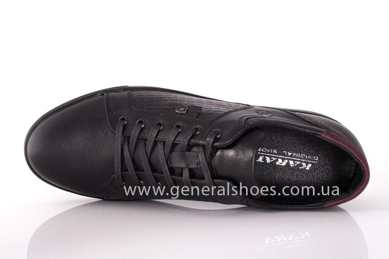Мужские кожаные туфли Karat 18 265 черные фото 6