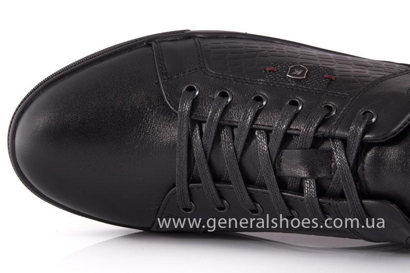 Мужские кожаные туфли Karat 18 265 черные фото 7