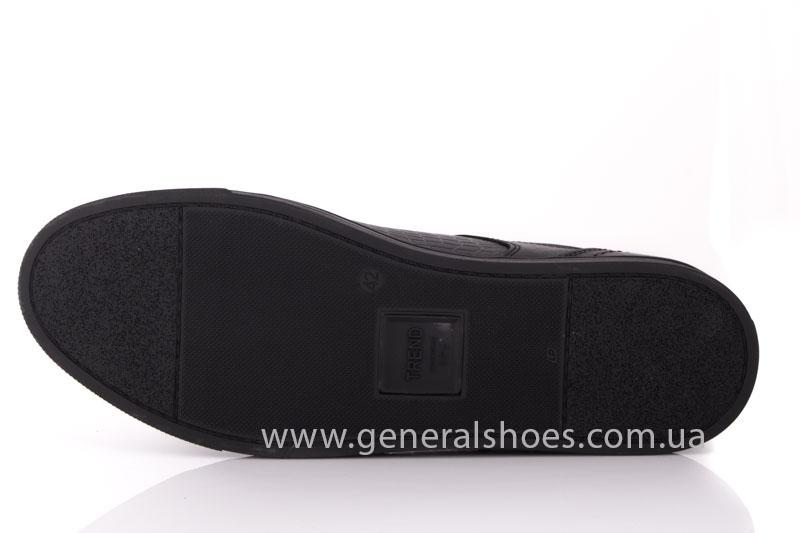 Мужские кожаные туфли Karat 18 265 черные фото 8