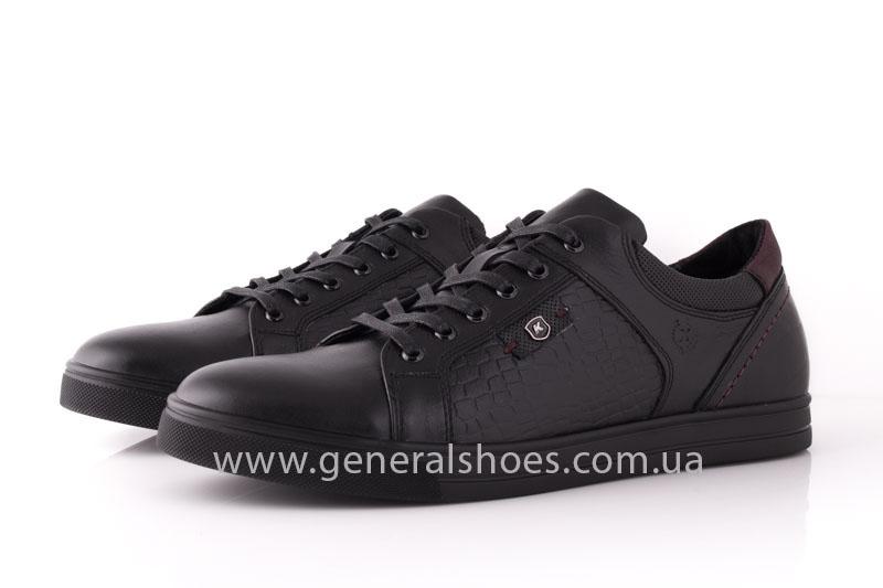 Мужские кожаные туфли Karat 18 265 черные фото 9