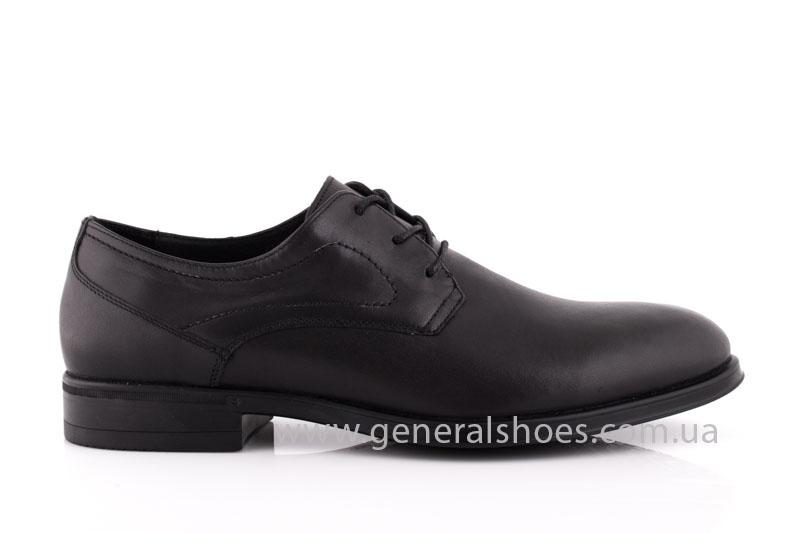 Туфли мужские кожаные Vlad XL 746 6215 02 черные фото 2