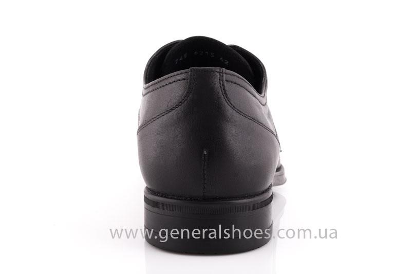 Туфли мужские кожаные Vlad XL 746 6215 02 черные фото 4