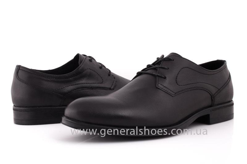Туфли мужские кожаные Vlad XL 746 6215 02 черные фото 9
