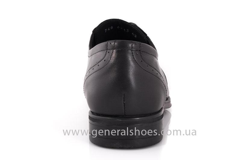 Туфли мужские кожаные Vlad XL 748 6213 02 черные фото 4