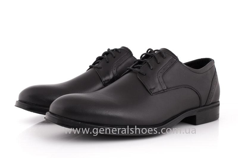 Туфли мужские кожаные Vlad XL 748 6213 02 черные фото 8
