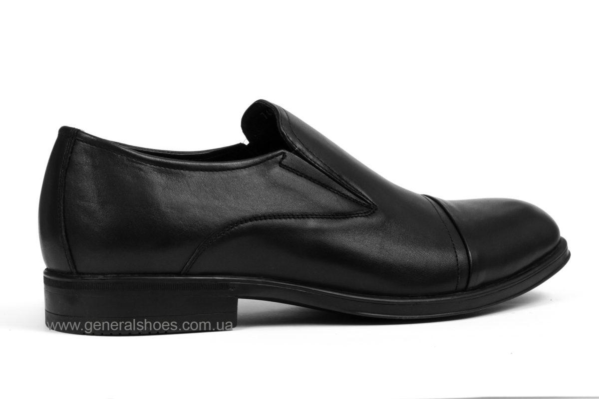 Туфли мужские кожаные Vlad XL 748 6216 02 черные фото 2