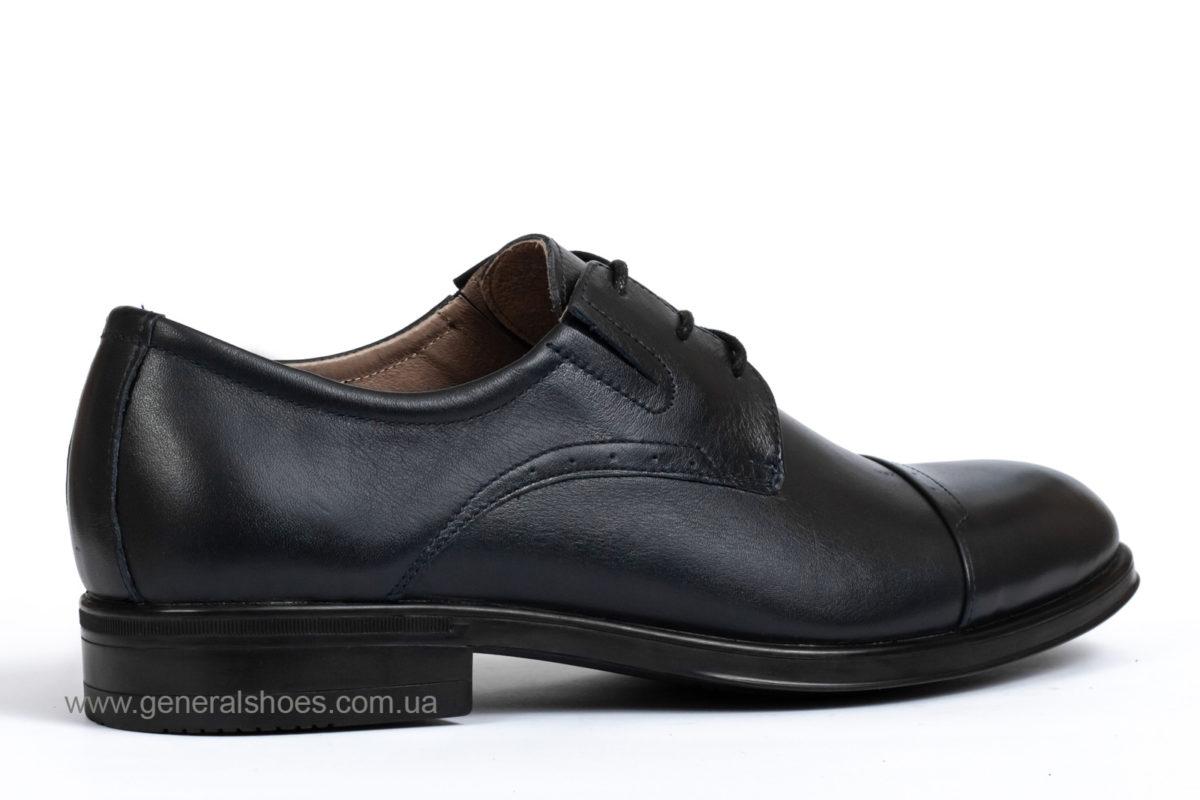Туфли мужские кожаные Vlad XL 748 7007 46 темно синие фото 2