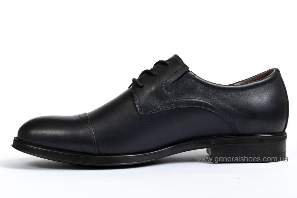 Туфли мужские кожаные Vlad XL 748 7007 46 темно синие фото 3