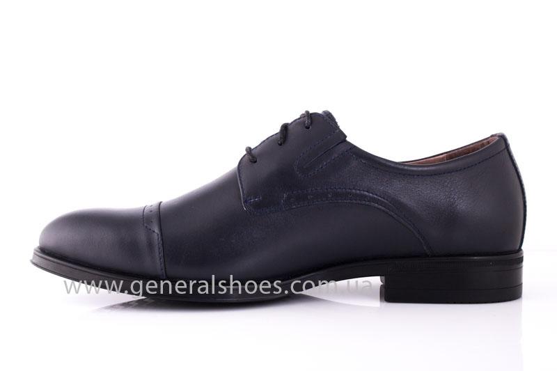 Туфли мужские кожаные Vlad XL 748 7007 46 темно синие фото 4