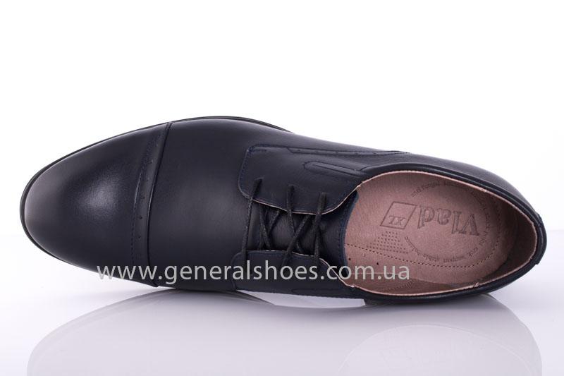 Туфли мужские кожаные Vlad XL 748 7007 46 темно синие фото 5
