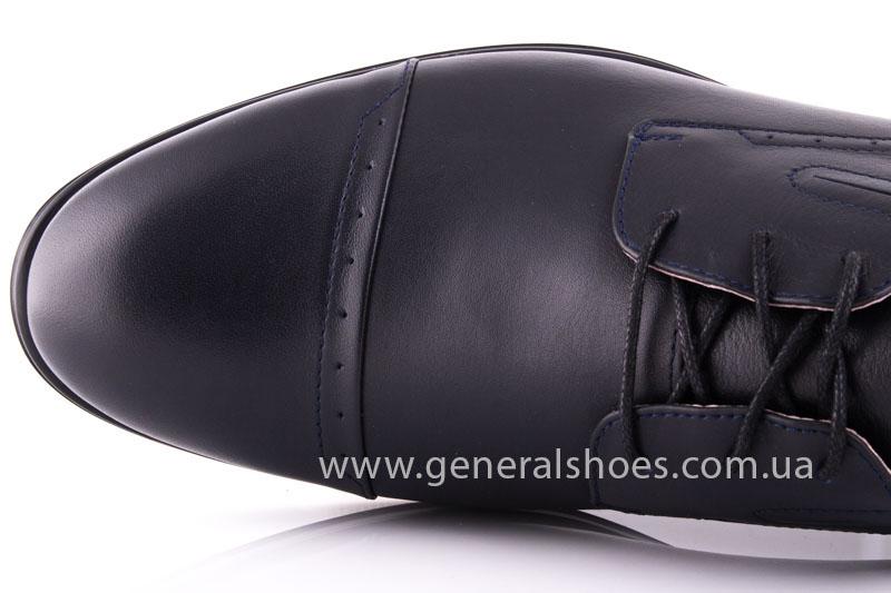 Туфли мужские кожаные Vlad XL 748 7007 46 темно синие фото 7