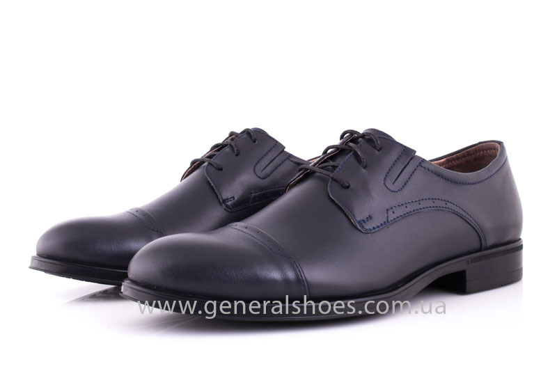 Туфли мужские кожаные Vlad XL 748 7007 46 темно синие фото 8