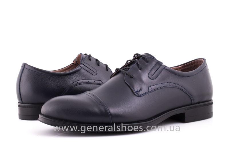 Туфли мужские кожаные Vlad XL 748 7007 46 темно синие фото 9