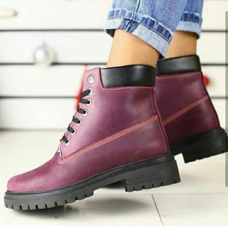 Женские зимние ботинки GL 152 кожаные