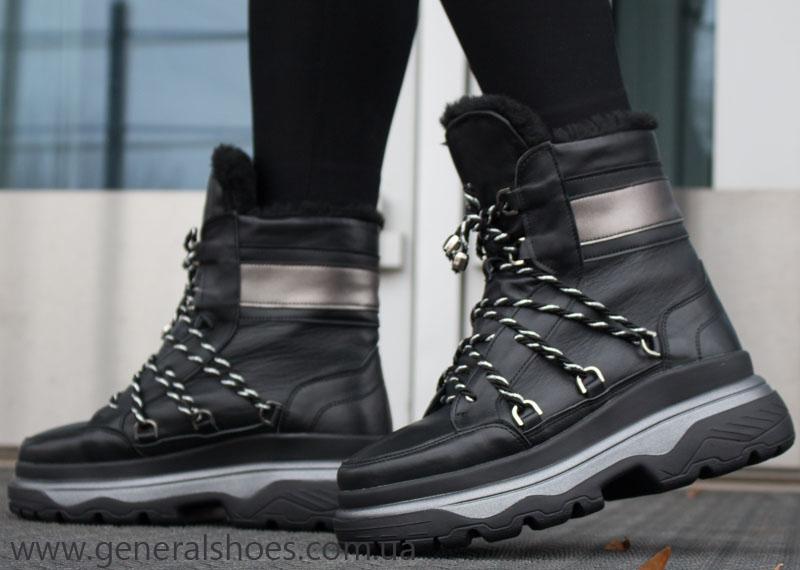 Зимние женские ботинки GL 323 черные фото 1