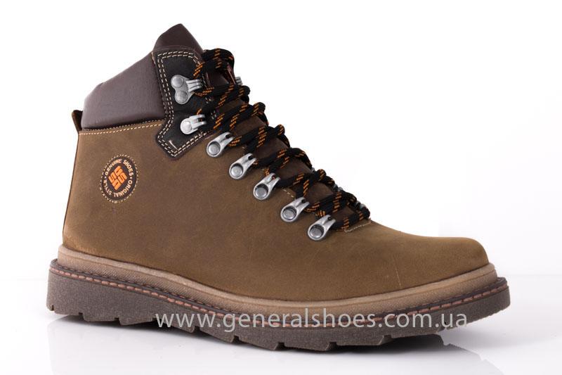 Зимние мужские ботинки GS 221/4 олива фото 1