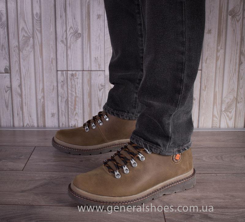 Зимние мужские ботинки GS 221/4 олива фото 7