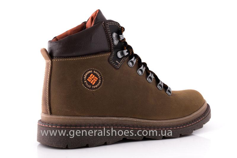 Зимние мужские ботинки GS 221/4 олива фото 2