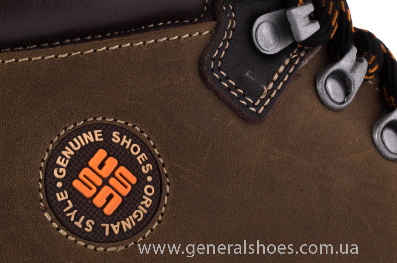 Зимние мужские ботинки GS 221/4 олива фото 4