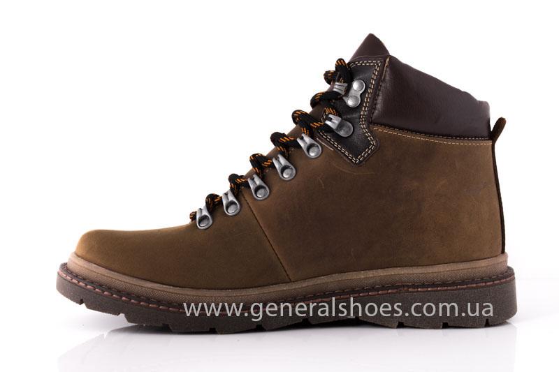 Зимние мужские ботинки GS 221/4 олива фото 5
