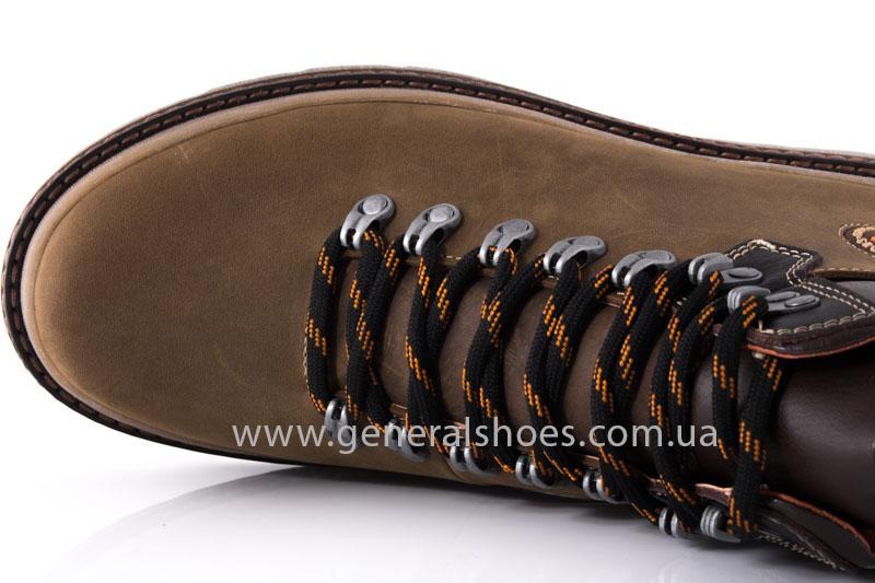 Зимние мужские ботинки GS 221/4 олива фото 6
