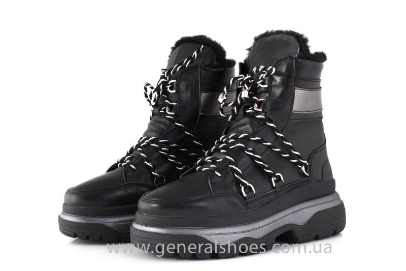 Зимние женские ботинки GL 323 черные фото 11