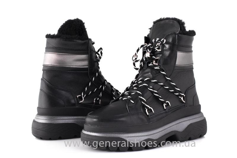 Зимние женские ботинки GL 323 черные фото 12
