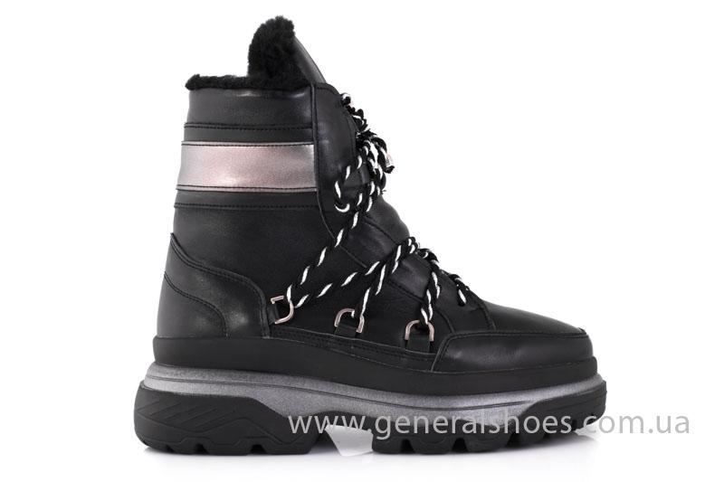 Зимние женские ботинки GL 323 черные фото 8