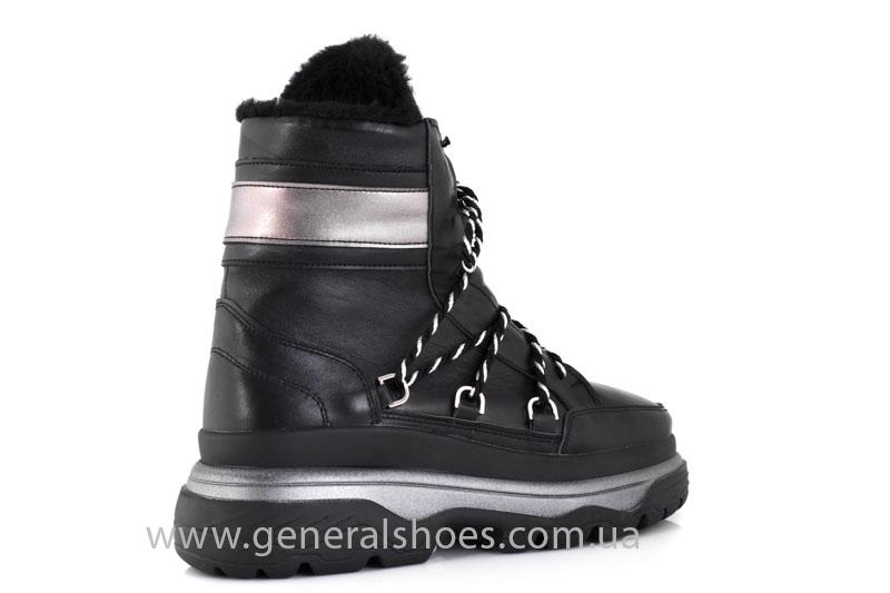 Зимние женские ботинки GL 323 черные фото 9