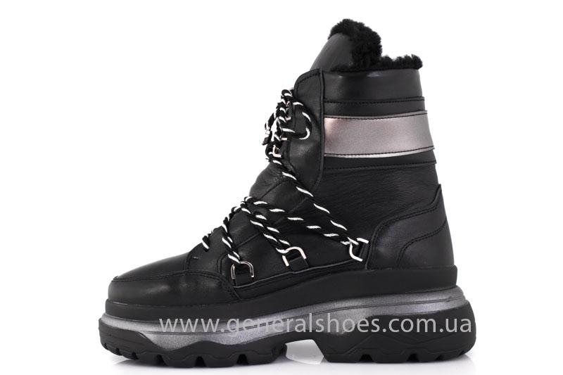 Зимние женские ботинки GL 323 черные фото 10