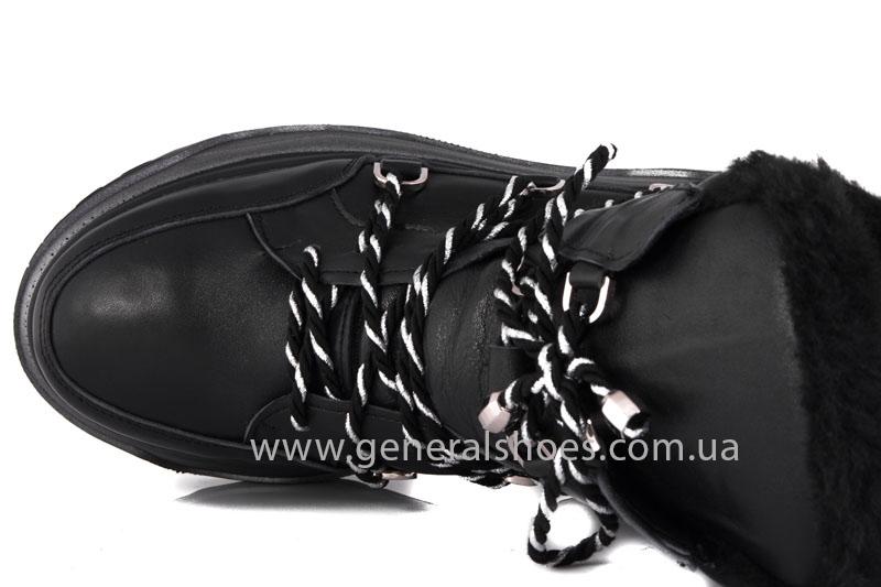 Зимние женские ботинки GL 323 черные фото 5