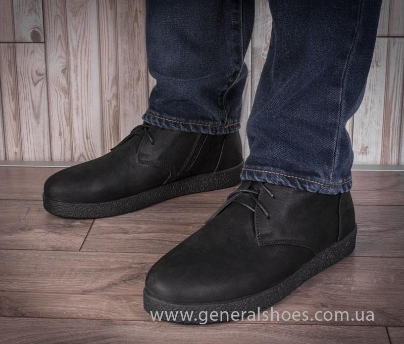 Мужские кожаные ботинки Koss байка