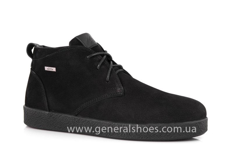 Мужские ботинки из нубука Koss байка фото 1