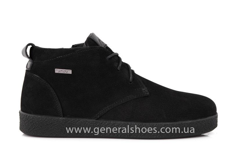Мужские ботинки из нубука Koss байка фото 2