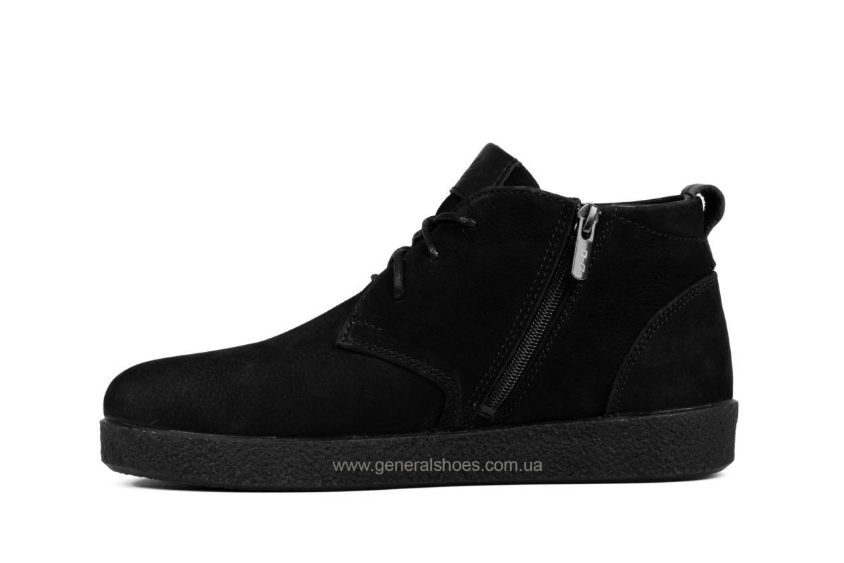 Мужские ботинки из нубука Koss байка фото 3