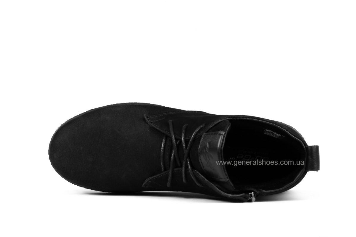 Мужские ботинки из нубука Koss байка фото 4