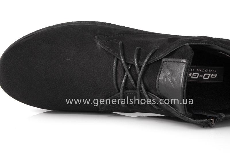 Мужские ботинки из нубука Koss байка фото 5